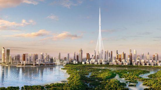 Creek Tower in Dubai