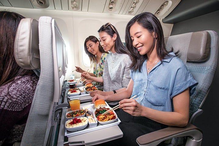 Emirates Economy eten