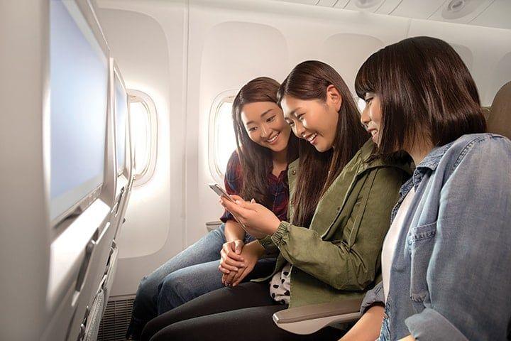 Emirates Economy Wifi